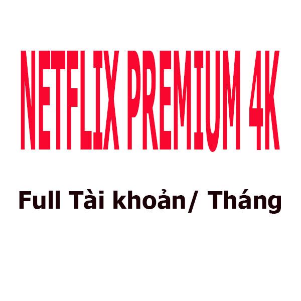 [DELUXE] Premium 4K Full Tài khoản/1 Tháng 1